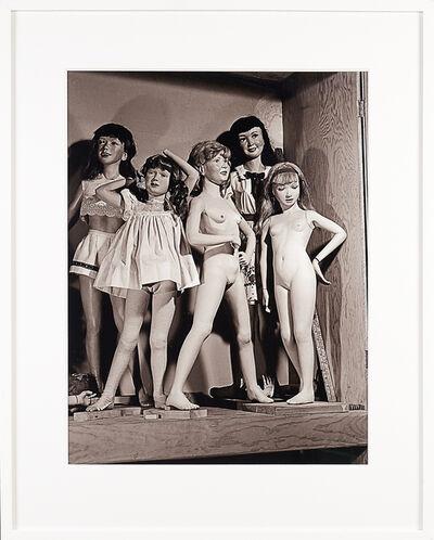 Morton Bartlett, 'Untitled (Studio Shot with Five Girls)', 2010