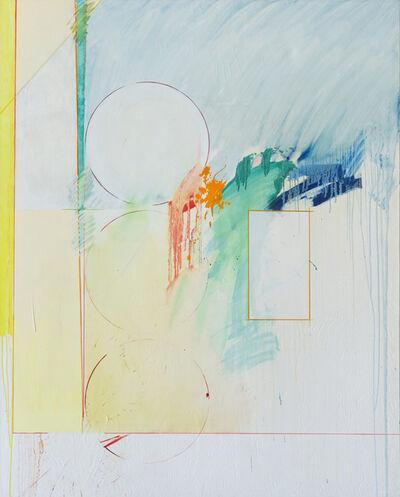 Timothy Isham, 'Riley's Red Sheet', 1990