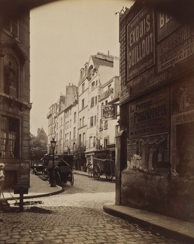 Eugène Atget, 'Rue Boutebrie, Paris', 1900