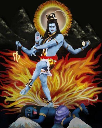Manjari Sharma, 'Lord Shiva', 2011