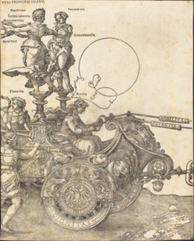 Albrecht Dürer, 'The Triumphal Chariot of Maximilian I (The Great Triumphal Car) [plate 2 of 8]', 1522