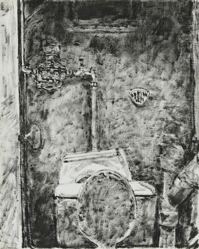 Avigdor Arikha, 'Bathroom Corner', 1974