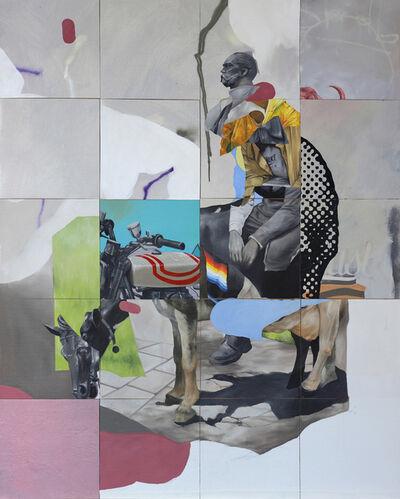 Joram Roukes, 'Get behind the mule ', 2019