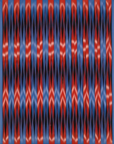 Walter Leblanc, 'Twisting Stripes  (Torsion Mobilo-Static)', 1964