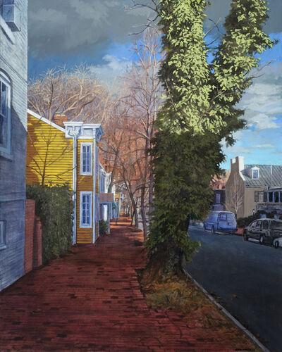 John Morrell, 'Autumnal Light, Prospect Street', 2017