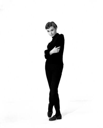 "Bud Fraker, 'Audrey Hepburn on the Set of ""Funny Face"", an Archival Print', 1957"