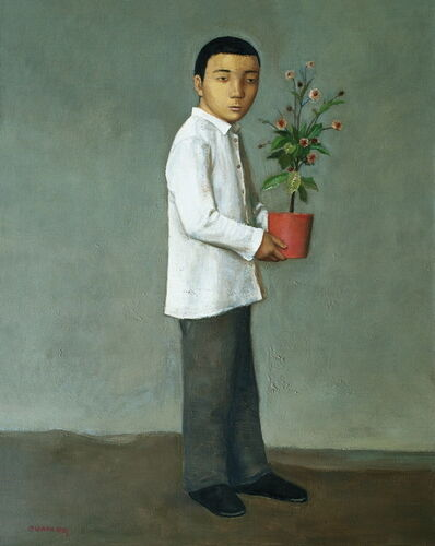 Duan Jianwei 段建伟, 'Boy Holding a Flower', 2009