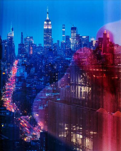 David Drebin, 'Lips in New York ', 2019