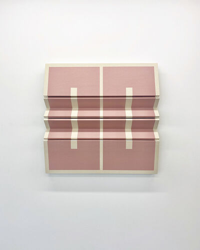Robert William Moreland, 'Two Mauve Rectangles', 2020