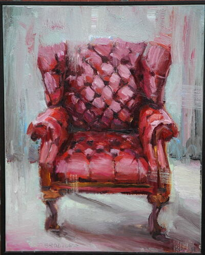 Bradford J. Salamon, 'Red Chair', 2017