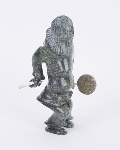 Pootoogook Jaw, 'Drum Dancer', 1300