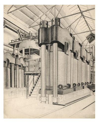 Carl Grossberg, 'Presse in einer chemischen Fabrik', ca. 1933