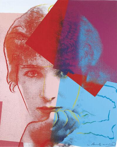 Andy Warhol, 'Sarah Bernhardt', ca. 1980