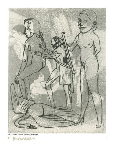 Pat Andrea, 'Klinger suite (09 Girls and gunner)', 2012