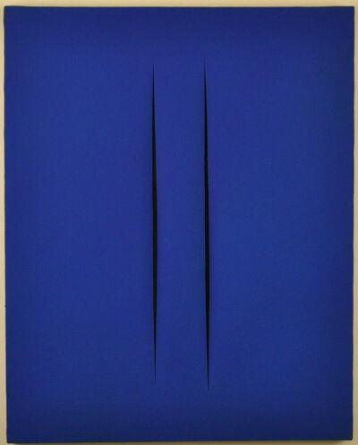 Lucio Fontana, 'Concetto Spaziale, Attese', 1968