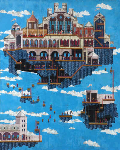 Dan Hernandez, 'Segacielo Civita', 2010-2016