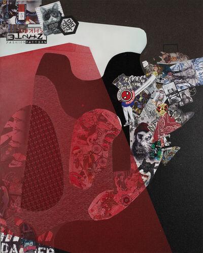Ye Hongxing, 'Red Curtain No. 3', 2019