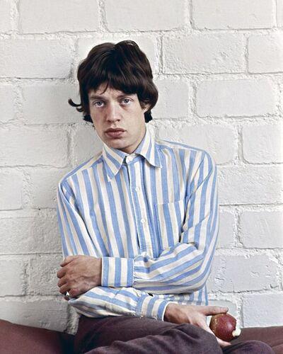 Jean-Marie Périer, 'Mick Jagger, Paris, February 1966 '