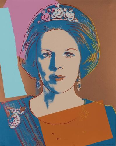 Andy Warhol, 'Queen Beatrix of the Netherlands, from Reigning Queens', 1985