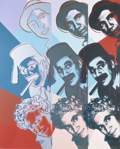 "Andy Warhol, 'The Marx Brothers from ""Ten Portraits of Jews of the Twentieth Century"" portfolio', 1980"