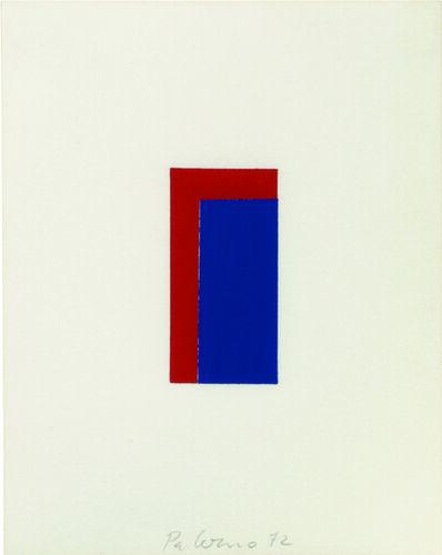 Blinky Palermo, 'Miniatur', 1972