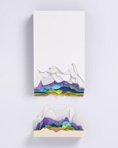 Maud Vantours, 'Montagne Bleue', 2019