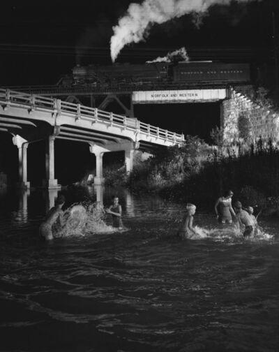O. Winston Link, 'NW1126 Hawksbill Creek Swimming Hole, Luray, VA', August 9 1956