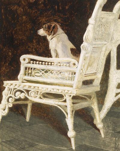 Jamie Wyeth, 'Yolk and the Wicker Chair', 1987