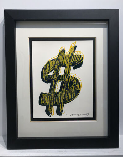 Andy Warhol, 'Dollar Sign, Yellow (FS II.278)', 1982