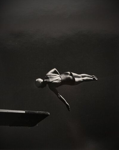 John Gutmann, 'Olympic High Diving Champion', 1936