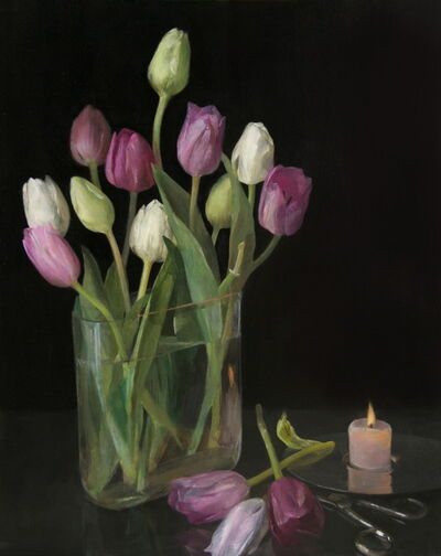 Helen Oh, 'Still Life with Tulips', 2020