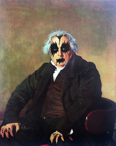 Ciler, 'Ejercicio de apropiación, Retrato de Louis-Francois Bertin de Ingres', 2017