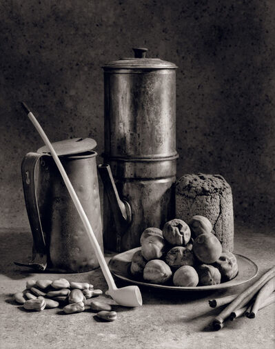 Arkady Lvov, 'Homage to Chardin (Coffee maker and Clay Pipe)', 1995