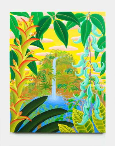Amy Lincoln, 'Jungle Waterfall', 2016