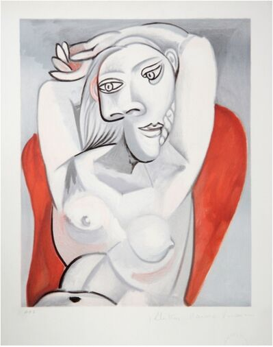 Pablo Picasso, 'Femme au Fauteuil Rouge', 1979-1982