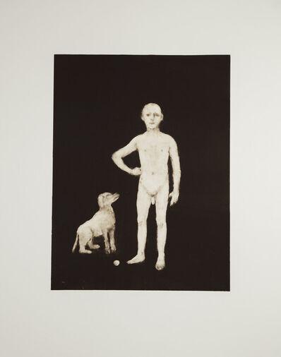 John Kirby, 'Boy With a Dog', 2016
