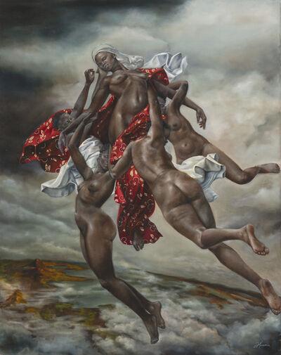 Harmonia Rosales, 'Assumption of a Woman', 2018