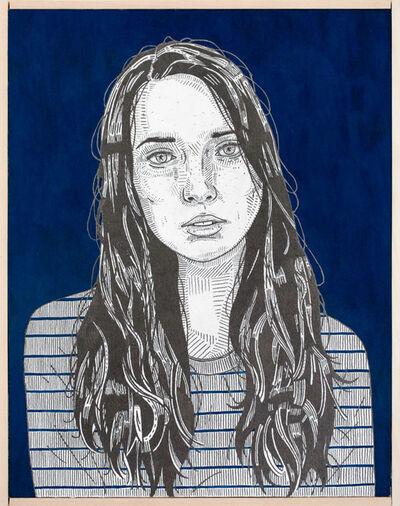 Jason Andrew Turner, 'she (ink)', 2016