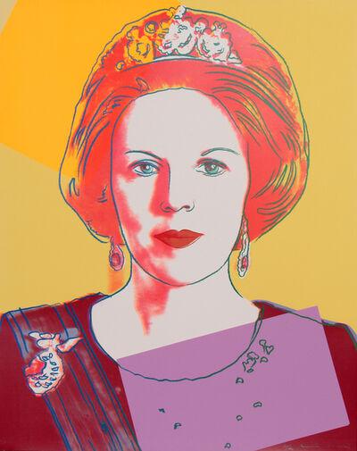 Andy Warhol, 'Queen Beatrix of the Netherlands (FS.II.341)', 1985