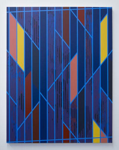 Christian Nguyen, 'Straight Blue', 2015
