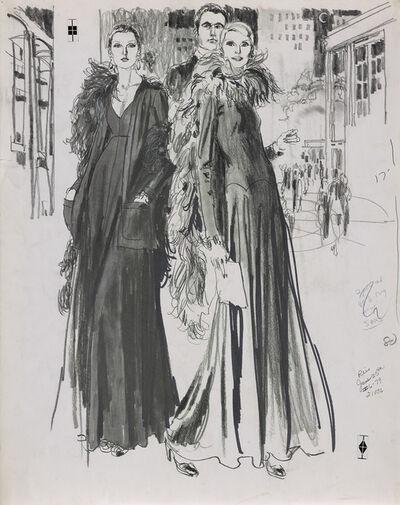 Jim Howard, 'Fashion illustration proof', circe 1975