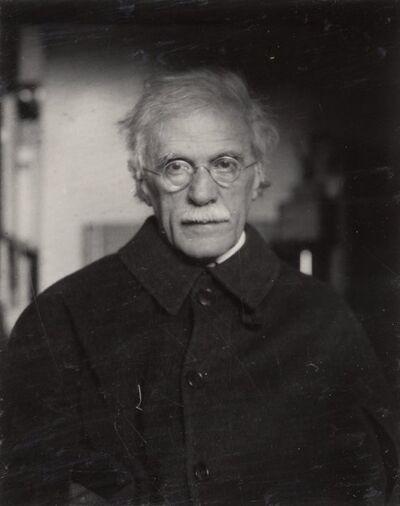 Dorothy Norman, 'Alfred Stieglitz, New York', 1934-printed later