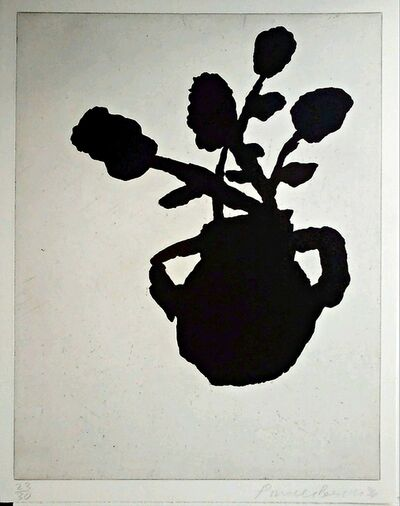 Donald Baechler, 'Flower Aquatint Etching', 1996