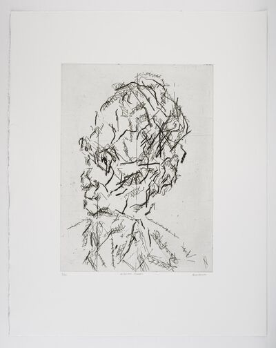 Frank Auerbach, 'William Feaver', 2007