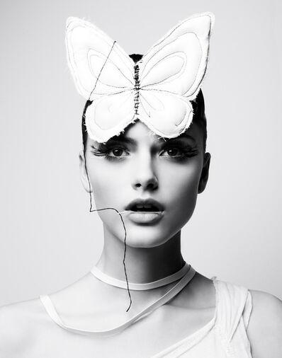 Liz Von Hoene, 'Butterfly Girl', 2020