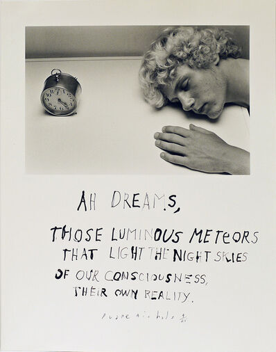 Duane Michals, 'Ah Dreams ', 1984