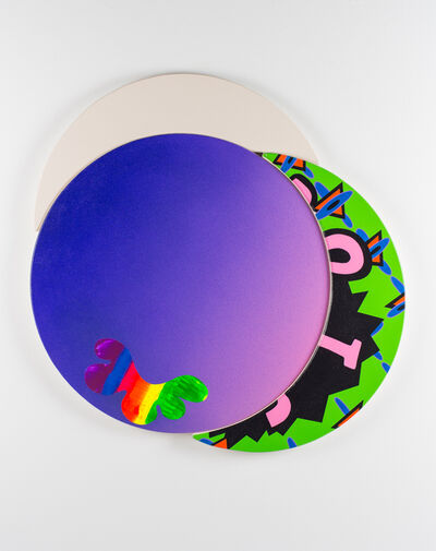Zach Reini, 'Lavender Ooze (For Frankenthaler)', 2019