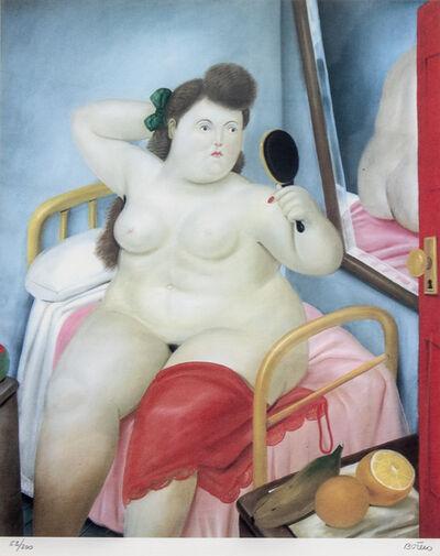 Fernando Botero, 'La Toilette', 1982