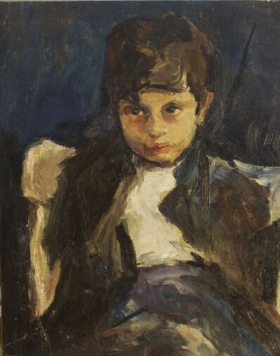 Margery Austen Ryerson, 'Portrait of a Young Boy', ca. 1920