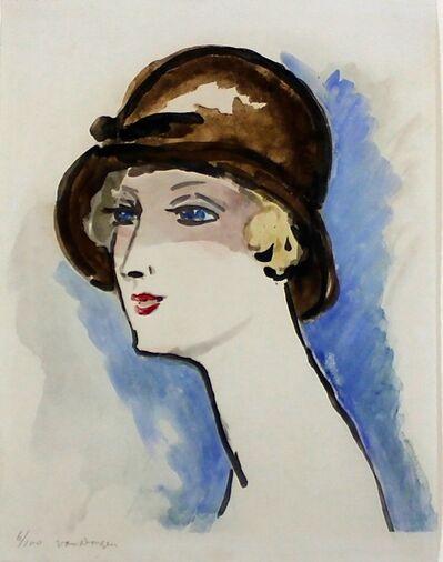 Kees van Dongen, 'Femme au Chapeau Brune', 1925-1930